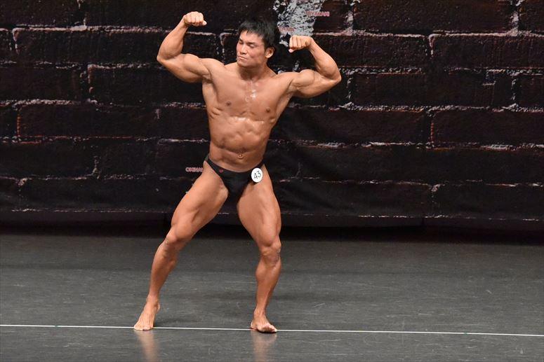 2018年JBBF日本クラス別ボディビル選手権 70kg以下級写真集(10)